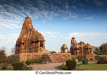 Kandariya Mahadeva Temple, Khajuraho, India-UNESCO world...