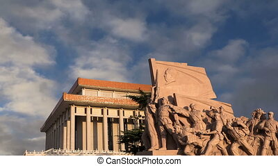 Revolutionary statues in Beijing - Revolutionary statues at...