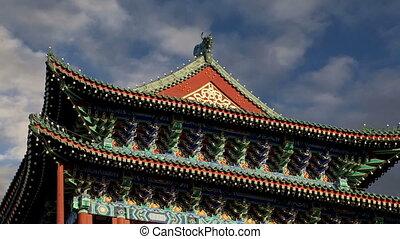 Zhengyangmen Gate(Qianmen). Beijing - Zhengyangmen Gate...