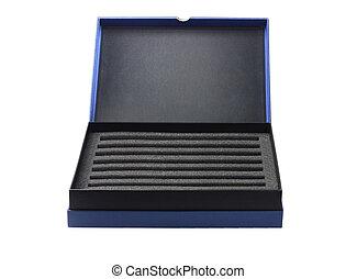 abierto, caja, con, protector, Empaquetado, Sponge, ,