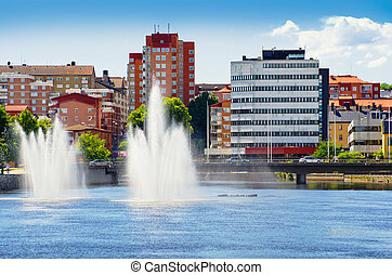 Norrkoping. Sweden - Norrkoping city. Ostergotland, Sweden....