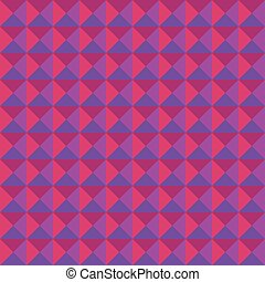 Triangle seamless pattern lilac color Vector illustration