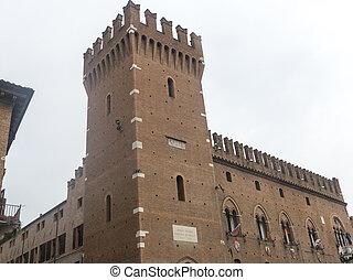 Ferrara Italy - Ferrara Emilia-Romagna, Italy: medieval...