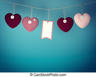 Heart for Valentines Day Background - Design Template Heart...