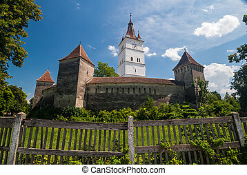 Prejmer Fortified Church, Romania - View of the Prejmer...