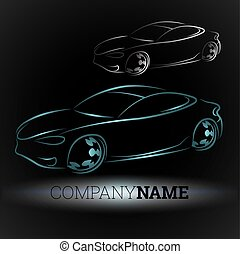 Auto vector - Design for auto business, for vector
