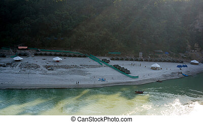 Riverside camp for adventure sports - Rishikesh, Himachal...