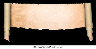 antikvitet, Pergament