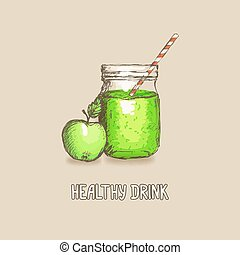 apple healthy drink