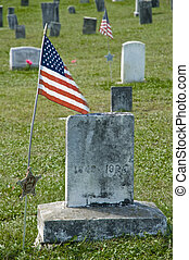 American Civil War Grave Marker