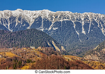 Piatra Craiului mountains, Romania - Sunny day in the valley...