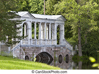 Marble Palladian Bridge, or Siberian Marble gallery...
