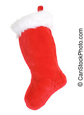 Christmas Stocking - Red Stocking ready for Christmas Gifts,...