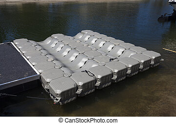 Floating watercraft dock - New domestic floating watercraft...