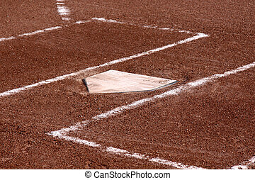 Home Plate Close-up