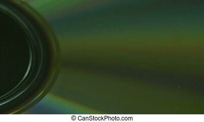 The close up of the camera lens with rays - The close up of...