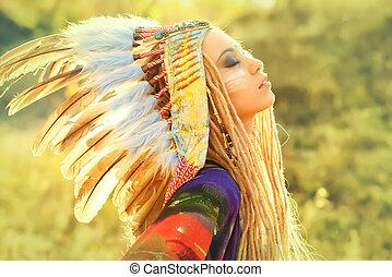 étnico, Moda,