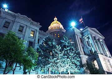Capitol Building in Denver - Colorado State Capitol. Capitol...