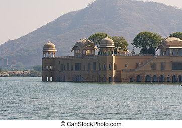 Jal Mahal in Jaipur, Rajasthan - Jal Mahal in Man Sagar...