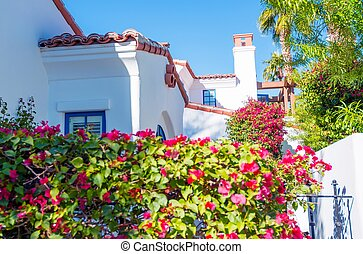 Mediterranean Architecture - California Housing....