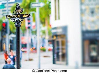Rodeo Drive Dayton Way - Rodeo Drive and Dayton Way...