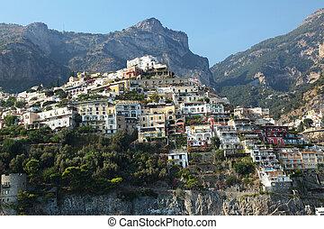Positano Amalfi Coast Italy - Positano is a village on the...