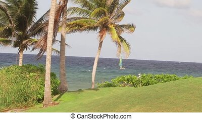 Golf course tropical island holiday - A Caribbean Resort...