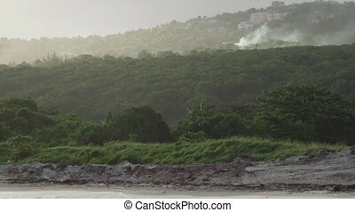 Blue Mountains landscape - Jamaican mountain country side...