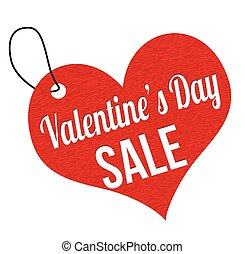 Valentines Day sale label or price - Valentines sale 10...