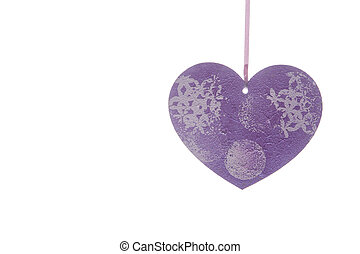 corações,  valentines, Dia, fundo