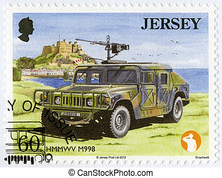 JERSEY - 2013: shows Hmmwv M998, series Military Vehicles -...