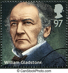 UNITED KINGDOM - 2014: shows William Ewart Gladstone...