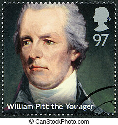 UNITED KINGDOM - 2014: shows William Pitt the Younger...