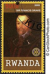senhor,  2009:,  (1540-1596),  -,  Drake, Ruanda, Retrato,  Francis, mostra