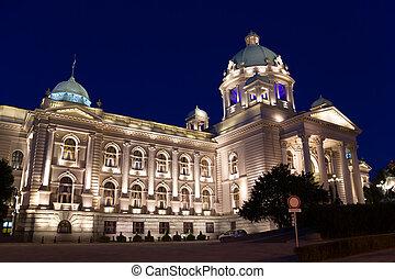 Parliament of Serbia (former Parliament of Yugoslavia)...