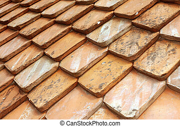 Tile roof - Orange color tile roof