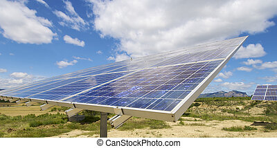 Solar energy - Detail of a photovoltaic panel