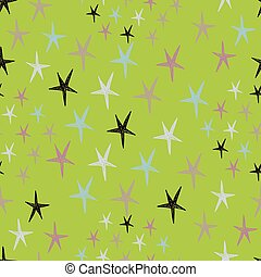 Seamless stars pattern with colorfu - Use for wallpaper,...