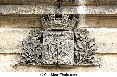Blazon of the city of Paris France - Blazon of the city of...