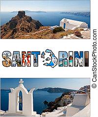 06,  Letterbox, rapporto,  Santorini