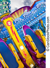 Ride - Colorful ride in a fairground