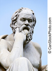 Socrates - The ancient greek philosopher Socrates