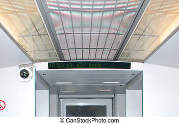 Maglev in Shanghai - The highest speed of Maglev in Shanghai