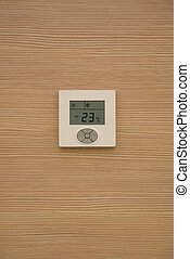 Air conditioner controller - One white air conditioner...