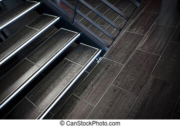 Staircases - Modern staircases in an hall