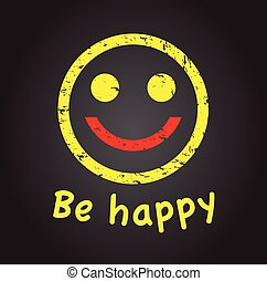 happy face - be happy