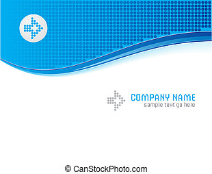 Abstract template - Abstract vector template