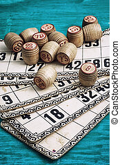Lotto - traditional legacy of the ancient Board game Lotto...