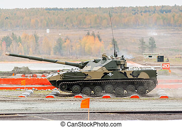 Airborne tracked armoured vehicle BMD-4M - Nizhniy Tagil,...
