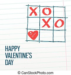 Happy Valentine's day xoxo greating card. - Happy...